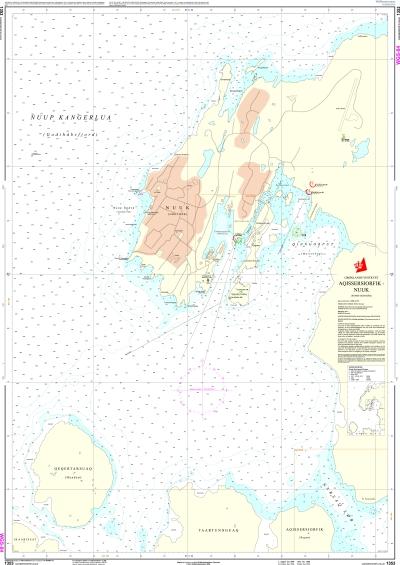 søndre strømfjord kort